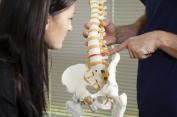Nervenschmerzen aufgrund eines Bandscheibenvorfalls